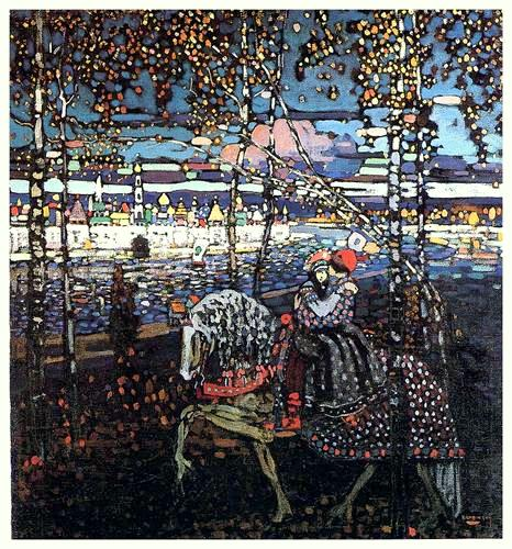Kandinsky_couple-riding-1906