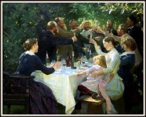 Hip, Hip, Hurrah! Peder Severin Krøyer 1888