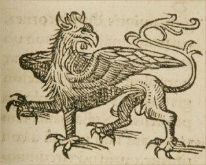 Griffin by Konrad Lykosthenes 1518-1561. Wikimedia.