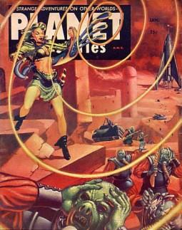 Planet Stories, 1930s. Wikimedia.