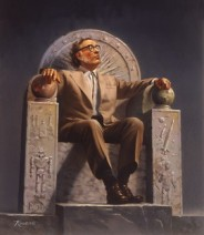 Rowena Morrill. Dr. Isaac Asimov. Wikimedia.