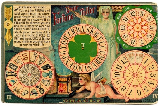 Fortune Teller via Graphics Fairy.