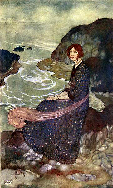 Edmund Dulac.  Abysm of Time, n.d. WikiArt.