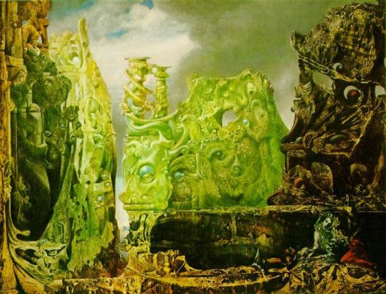 Max Ernst.  The Eye of Silence. WikiArt.