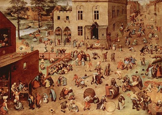 Pieter Breugel - 1560 - Children's Games (Wikipedia)