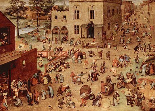 Pieter Breugel - 1560 - Children's Games (Wikipedia)