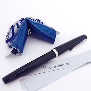 "Handmade ""fortune cookie"""