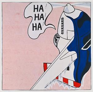 Roy Lichtenstein. Live Ammo, 1962. WikiArt.