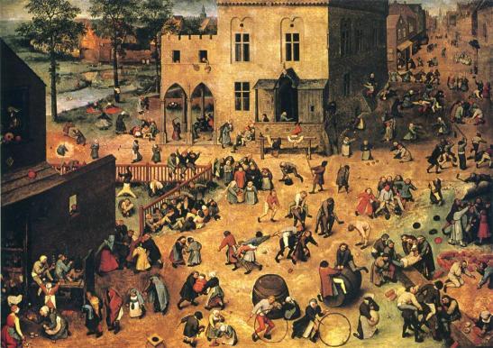 Brueghel children's games hd
