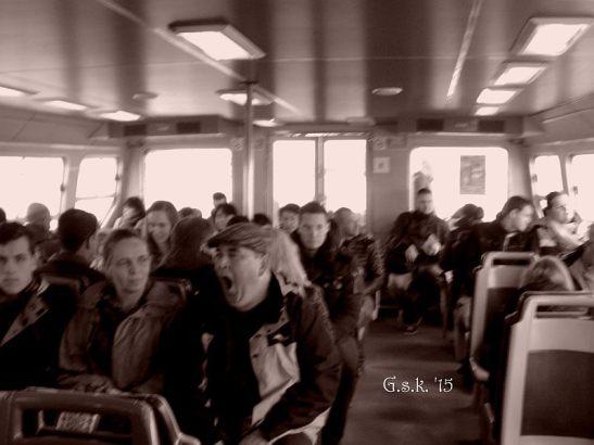 Ferry Boat Passengers