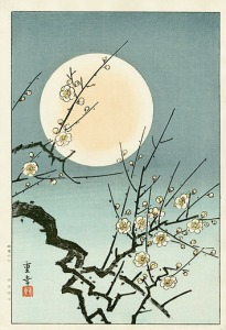 WOODBLOCK FULL MOON