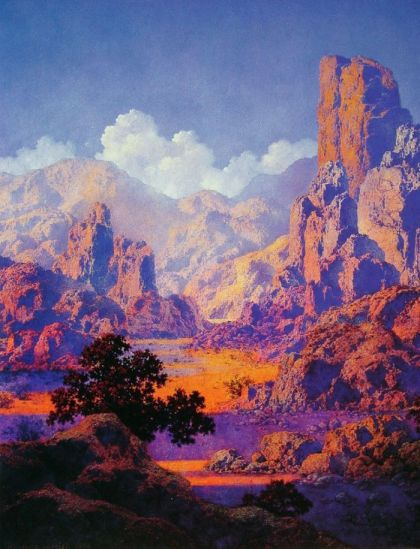 Maxfield Parrish. Arizona, n.d. Via Pinterest.