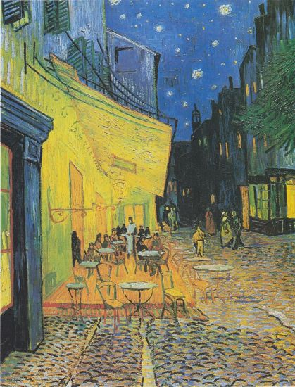 Van Gogh. Cafe Terrace At Night.