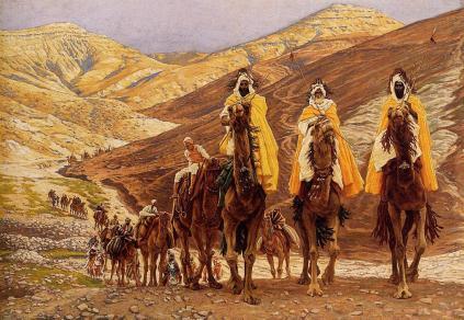 James Tissot. Journey of the Magi, 1894. WikiArt.