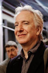 Alan Rickman. Wikimedia.