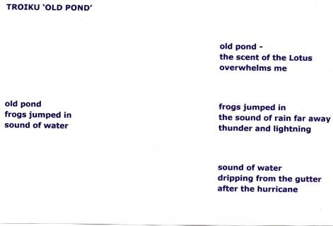 Troiku Old Pond