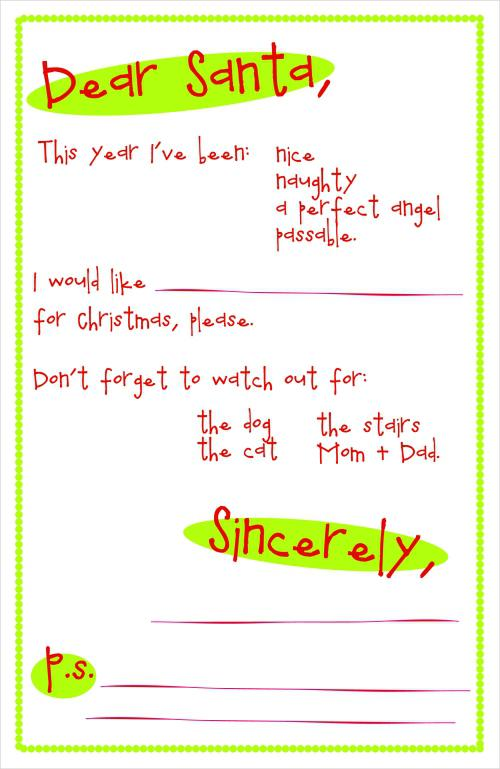 10-free-party-craft-printable-letter-to-santa-kids-ideas
