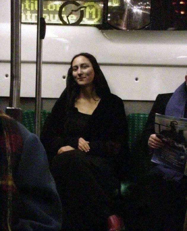 Modern day Monalisa